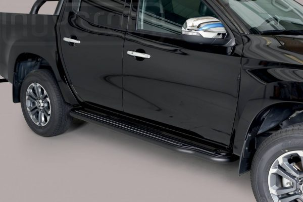 Mitsubishi L200 Double Cab 2019 - Lemezbetétes oldalfellépő - mt-223