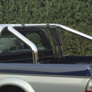 Mitsubishi L200 Tdi Club Cab Double Cab 2002 2006 - Dupla borulásvédő - mt-259