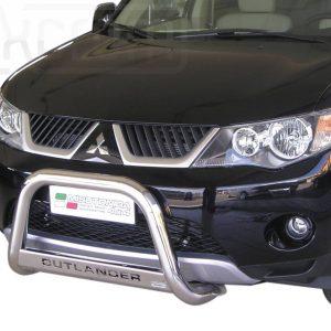 Mitsubishi Outlander 2007 2009 - EU engedélyes Gallytörő rács - feliratos - mt-153