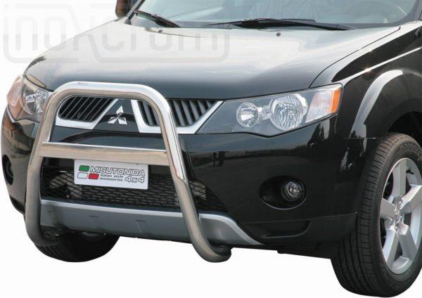 Mitsubishi Outlander 2007 2009 - EU engedélyes Gallytörő rács - magasított - mt-214