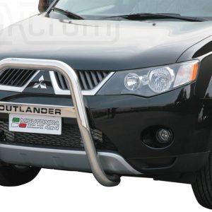 Mitsubishi Outlander 2007 2009 - EU engedélyes Gallytörő rács - magasított feliratos - mt-218