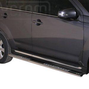 Mitsubishi Outlander 2010 2012 - ovális oldalfellépő betéttel - mt-111