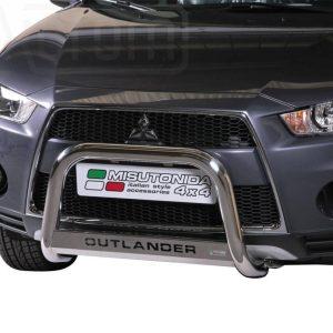 Mitsubishi Outlander 2010 2012 - EU engedélyes Gallytörő rács - feliratos - mt-153