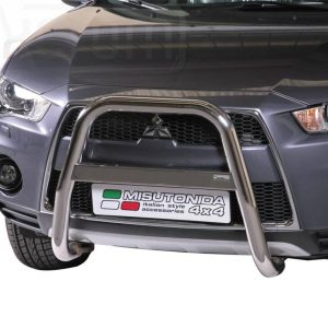 Mitsubishi Outlander 2010 2012 - EU engedélyes Gallytörő rács - magasított - mt-214
