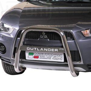 Mitsubishi Outlander 2010 2012 - EU engedélyes Gallytörő rács - magasított feliratos - mt-218