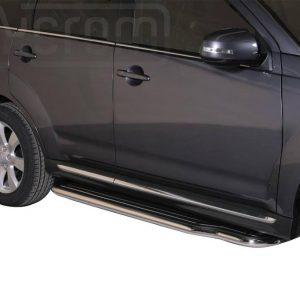 Mitsubishi Outlander 2010 2012 - Lemezbetétes oldalfellépő - mt-221