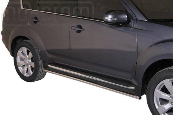 Mitsubishi Outlander 2010 2012 - oldalsó csőküszöb - mt-274