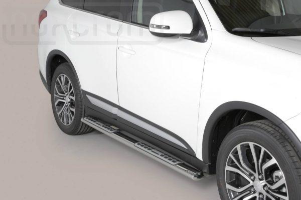 Mitsubishi Outlander 2015 2019 - ovális oldalfellépő betéttel - mt-111