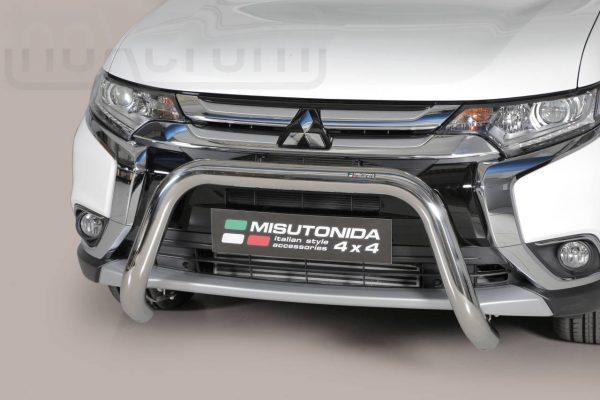 Mitsubishi Outlander 2015 2019 - EU engedélyes Gallytörő rács - U alakú - mt-157
