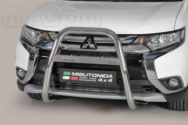 Mitsubishi Outlander 2015 2019 - EU engedélyes Gallytörő rács - magasított - mt-214