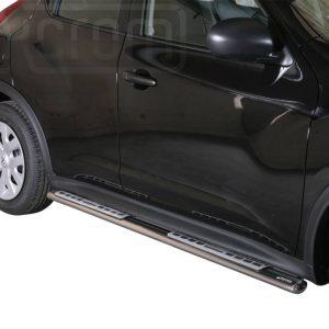 Nissan Juke 2010 - ovális oldalfellépő betéttel - mt-111
