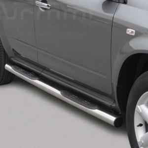 Nissan Murano 2005 2008 - Csőküszöb, műanyag betéttel - mt-178