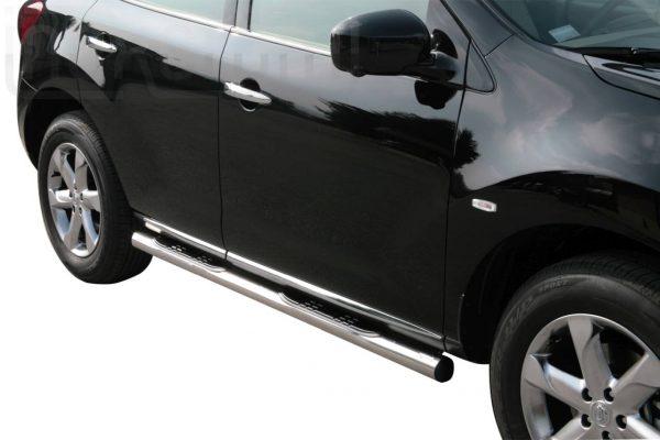 Nissan Murano 2008 - Csőküszöb, műanyag betéttel - mt-178