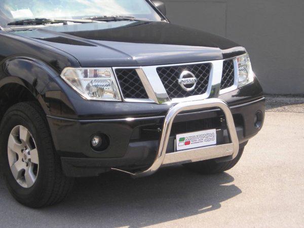 Nissan Navara King Cab 2005 - EU engedélyes Gallytörő rács - mt-133