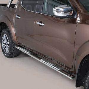 Nissan Navara Np 300 2016 - ovális oldalfellépő betéttel - mt-111