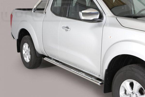 Nissan Navara Np 300 King Cab 2016 - ovális oldalfellépő betéttel - mt-111