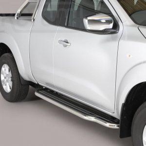 Nissan Navara Np 300 King Cab 2016 - Lemezbetétes oldalfellépő - mt-221