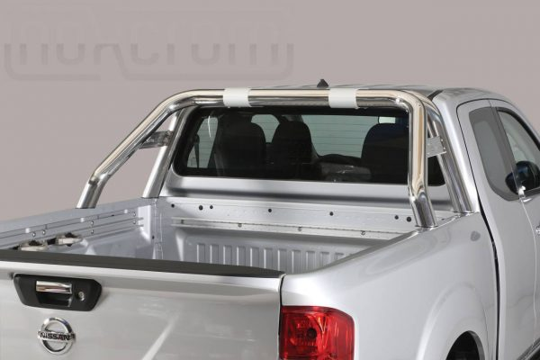 Nissan Navara Np 300 King Cab 2016 - Dupla borulásvédő - összekötővel rövid - mt-239