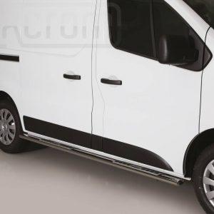 Nissan Nv300 2017 - ovális oldalfellépő betéttel - mt-122