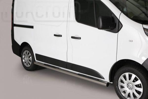 Nissan Nv300 2017 - Csőküszöb, műanyag betéttel - mt-187