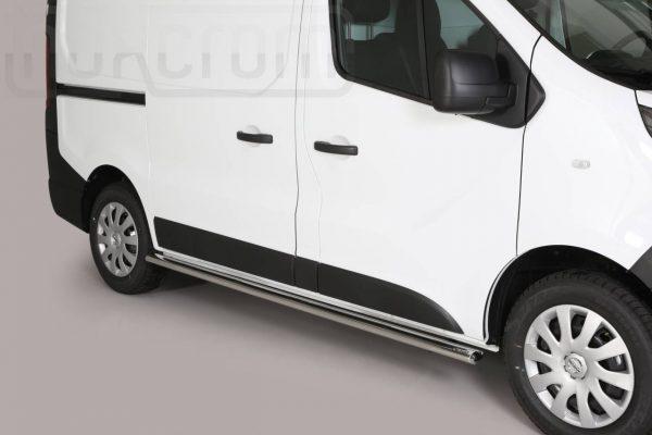 Nissan Nv300 2017 - oldalsó fellépő ovális csőből - mt-303