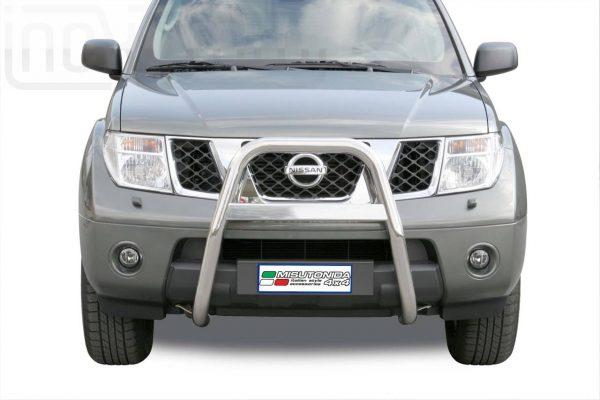 Nissan Pathfinder 2005 2011 - EU engedélyes Gallytörő rács - magasított - mt-214