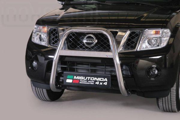 Nissan Pathfinder 2011 - EU engedélyes Gallytörő rács - magasított - mt-214