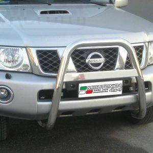 Nissan Patrol Gr 2005 - EU engedélyes Gallytörő rács - magasított - mt-214