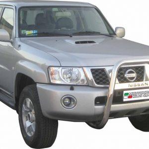 Nissan Patrol Gr 2005 - EU engedélyes Gallytörő rács - magasított feliratos - mt-218