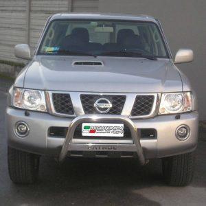 Nissan Patrol Gr 2005 - EU engedélyes Gallytörő rács - feliratos - mt-220