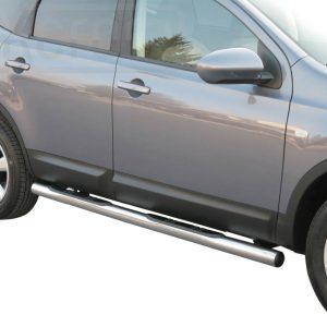 Nissan Quasquai 2 2008 - Csőküszöb, műanyag betéttel - mt-178