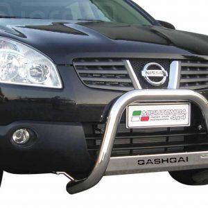 Nissan Quasquai 2007 2010 - EU engedélyes Gallytörő rács - feliratos - mt-153