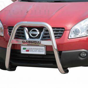 Nissan Quasquai 2007 2010 - EU engedélyes Gallytörő rács - magasított feliratos - mt-218