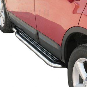 Nissan Quasquai 2007 2010 - Lemezbetétes oldalfellépő - mt-221
