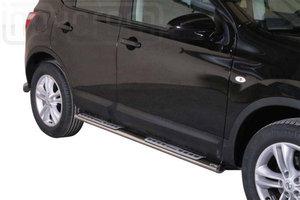 Nissan Quasquai 2010 2013 - ovális oldalfellépő betéttel - mt-111