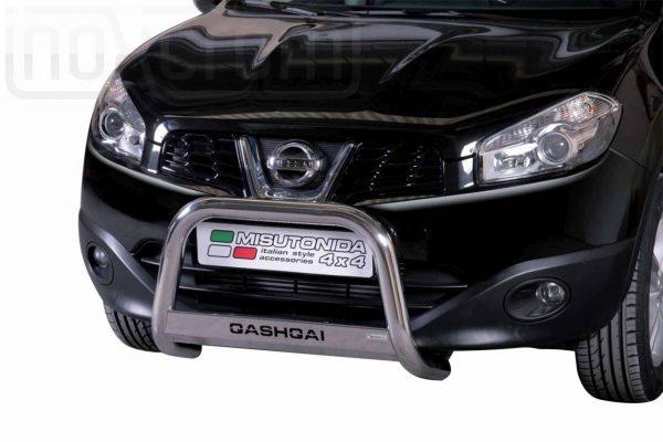 Nissan Quasquai 2010 2013 - EU engedélyes Gallytörő rács - feliratos - mt-153
