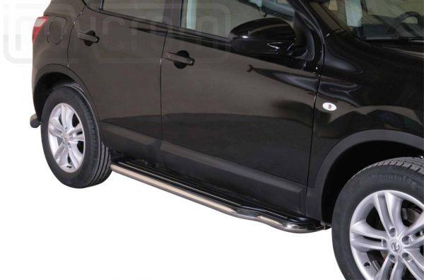 Nissan Quasquai 2010 2013 - Lemezbetétes oldalfellépő - mt-221