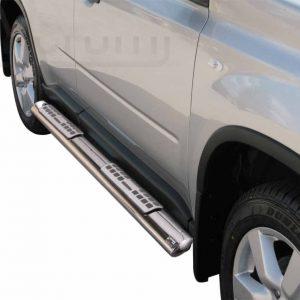 Nissan X Trail 2007 2010 - ovális oldalfellépő betéttel - mt-111