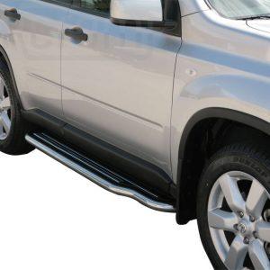 Nissan X Trail 2007 2010 - Lemezbetétes oldalfellépő - mt-221