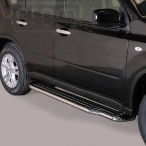 Nissan X Trail 2011 2014 - Lemezbetétes oldalfellépő - mt-221