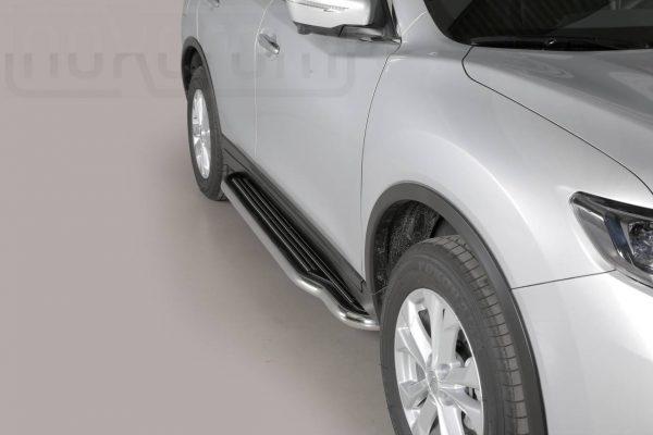 Nissan X Trail 2015 - Lemezbetétes oldalfellépő - mt-221