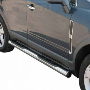 Opel Antara 2007 2011 - Csőküszöb, műanyag betéttel - mt-178