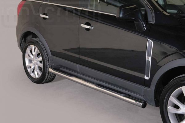 Opel Antara 2011 - Csőküszöb, műanyag betéttel - mt-178