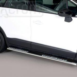 Opel Crossland X 2017 - ovális oldalfellépő betéttel - mt-111