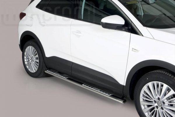 Opel Grandland X 2018 - ovális oldalfellépő betéttel - mt-111