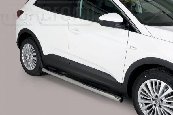 Opel Grandland X 2018 - Csőküszöb, műanyag betéttel - mt-178