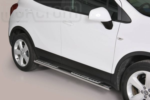 Opel Mokka 2012 2016 - ovális oldalfellépő betéttel - mt-111