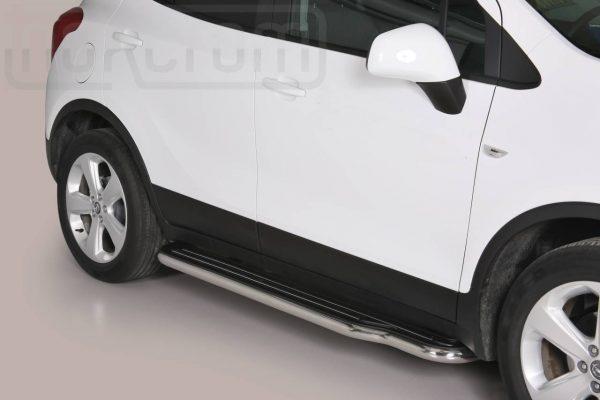 Opel Mokka 2012 2016 - Lemezbetétes oldalfellépő - mt-221