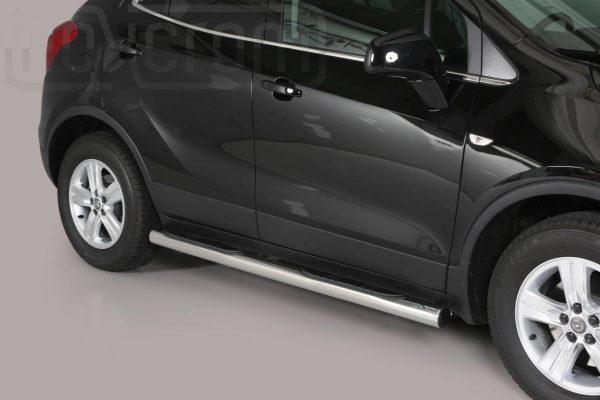 Opel Mokka X 2016 - Csőküszöb, műanyag betéttel - mt-178