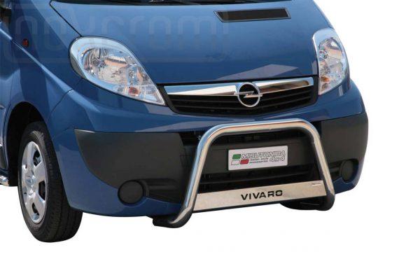 Opel Vivaro 2008 2013 - EU engedélyes Gallytörő rács - feliratos - mt-220